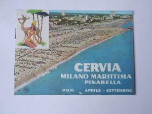 Dettagli su CERVIA MILANO MARITTIMA PINARELLA Ravenna vecchia brochure ENIT