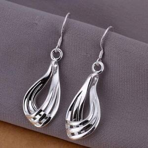 Asamo-Ladies-Earrings-925-Sterling-Silver-Plated-Earrings-O1230
