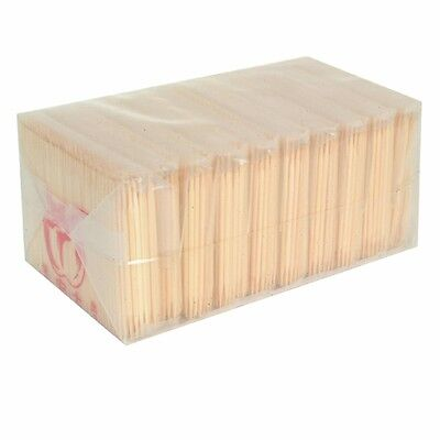 10 Bag/pack Bamboo Plain Heavy Strong Toothpicks Toothpick 1000 Counts BATP001