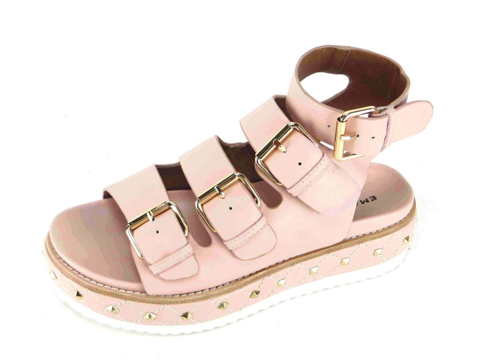 EMANUELLE pelle VEE P/E 18 sandalo con platform pelle EMANUELLE cinturini  fibbia 481-335-14-909 0e2ca0