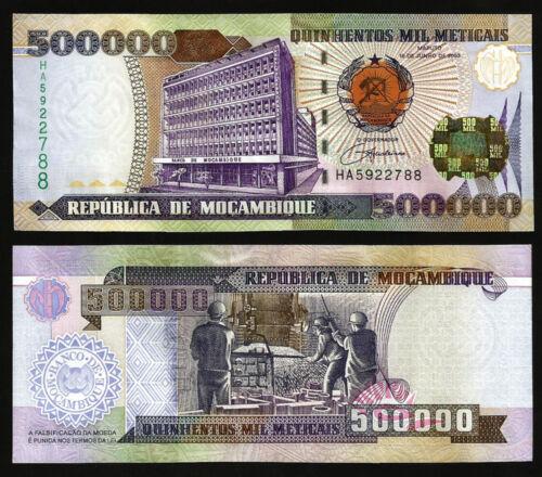 MOZAMBIQUE 500000 500,000 METICAIS 2003 UNCIRCULATED P.142