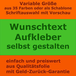wunschtext aufkleber dein wandtattoo text einfach selbst gestalten mit vorschau ebay. Black Bedroom Furniture Sets. Home Design Ideas