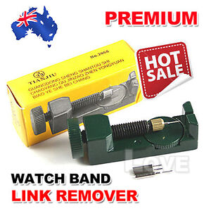 Metal-Adjustable-Watch-Band-Strap-Bracelet-Link-Pin-Remover-Repair-Tool-Kit-Set