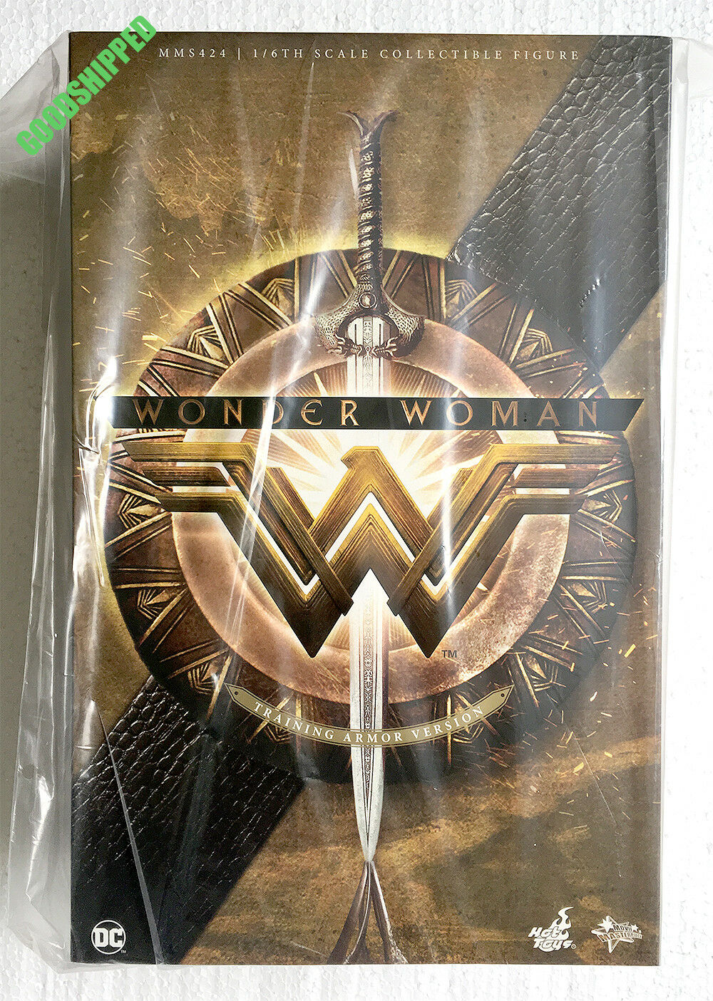 Ready HOT TOYS Wonder Woman Training Armor Version Gal Gadot MMS424 1 6 Menthe en Boîte Scellée Neuf