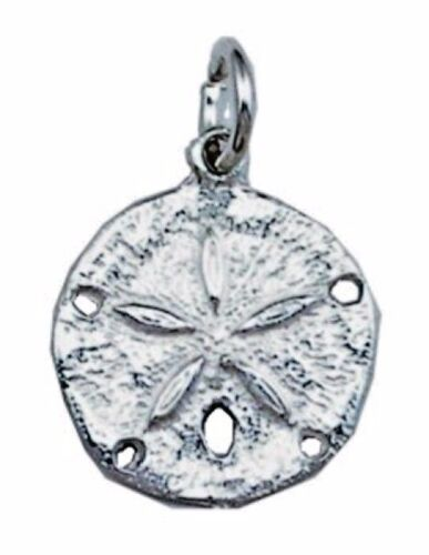 USA Seller Sand Dollar Pendant Sterling Silver 925 Fashion Ocean Beach Gift