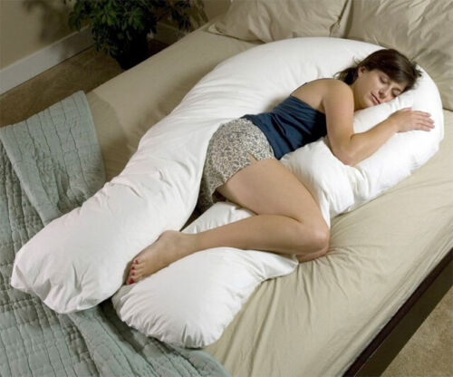 9Ft//12Ft U Body//Bolster Support Maternity Pregnancy Support Pillow OR Case