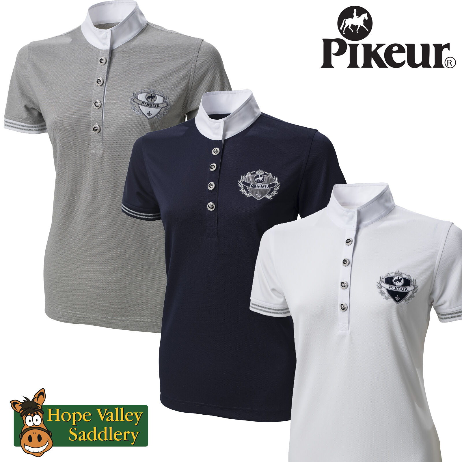 Pikeur Ladies Competition Shirt (499) BNWT