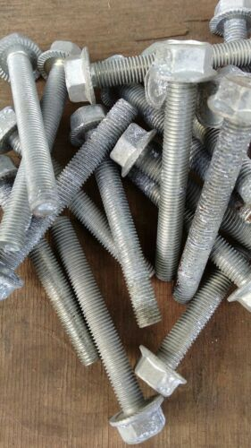 "2 1//2/"" X 5//16 UNF flange head bolts BZP Qty 10 studs"