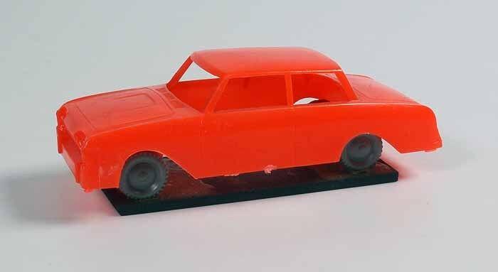 Fahrschulmodell Ford Taunus 17m p3 bañera rojo alt original original original 1 43 plástico 9903 -  comprar nuevo barato