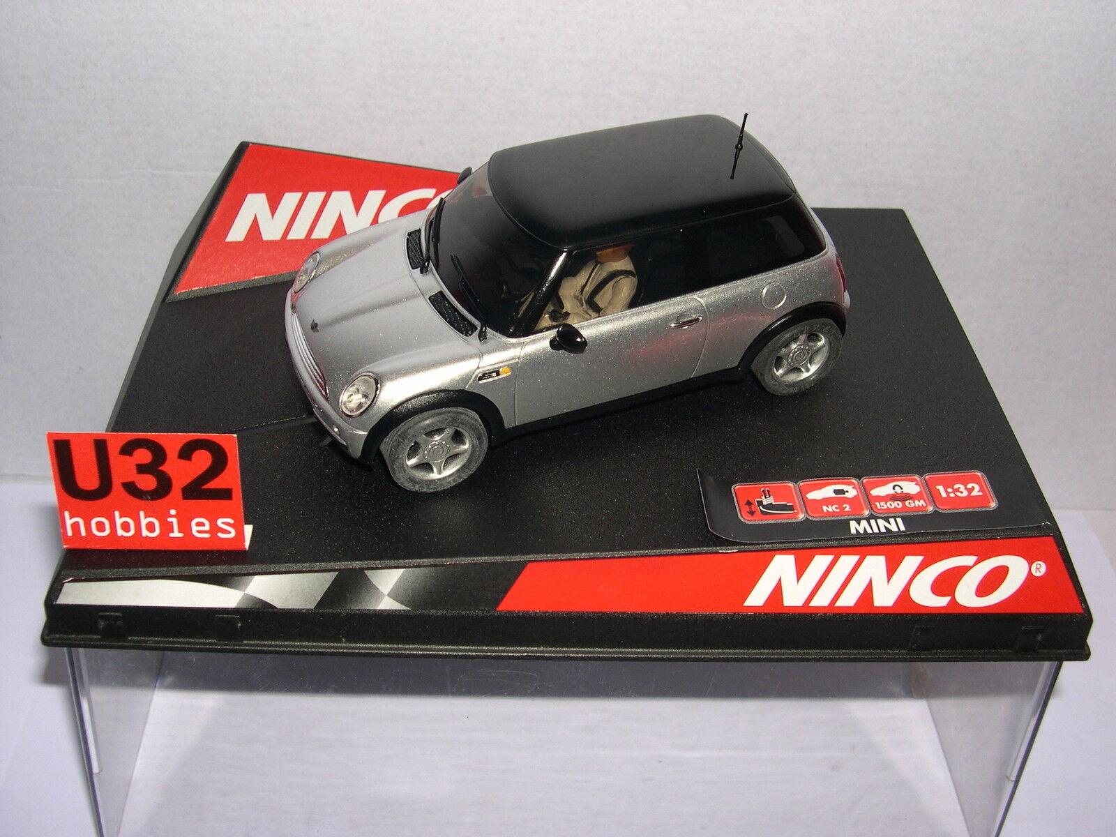 Goût élégant et choix distingué. NINCO 50278 SLOT SLOT SLOT CAR MINI COOPER ARGENT ROAD CAR MB 7a359a
