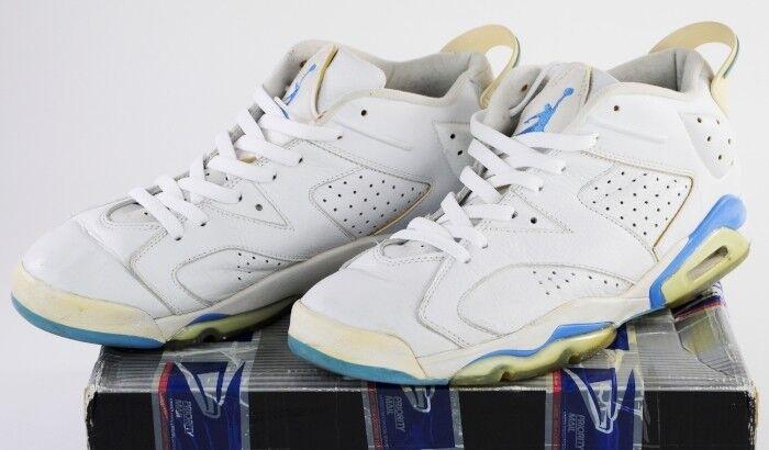 304401-141 Nike Air Jordan 6 Retro Low White bluee 11.5 White University bluee