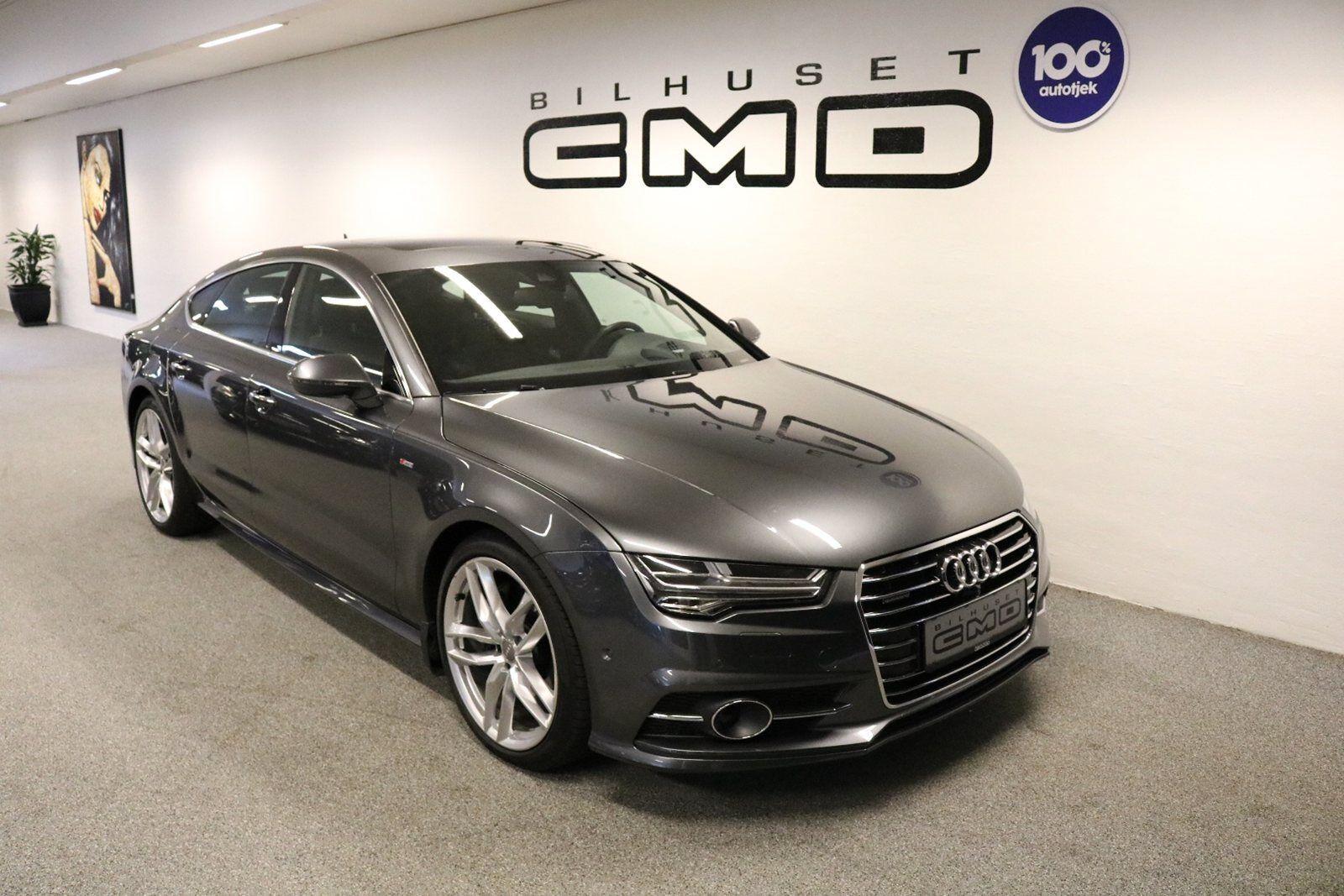 Audi A7 3,0 TDi 272 S-line SB quattro S-tr 5d - 849.900 kr.
