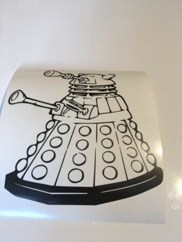 bumpers Dr Who Dalek,car decal// sticker for windows panels