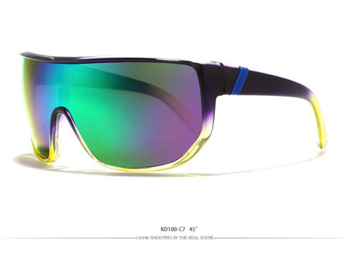 KDEAM Large Oversize Windproof Sunglasses UV400 Sport Cycling Bike Sunglasses V