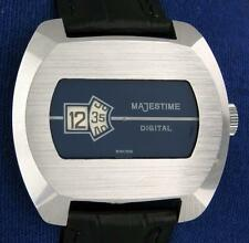 """Vintage Digital """"Jump Hour """" Swiss Watch 1970 new old stock NOS"""