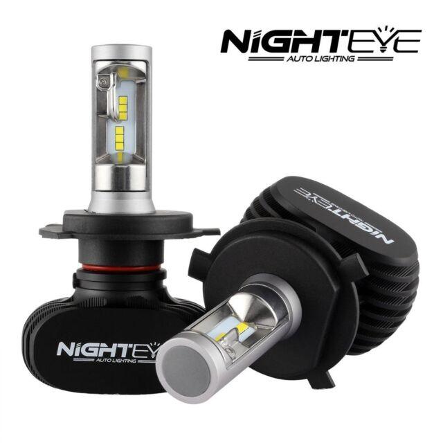 Nighteye LED H4 HB2 50W Scheinwefer Frontscheinwerfer Birnen Headlight Kit L DP