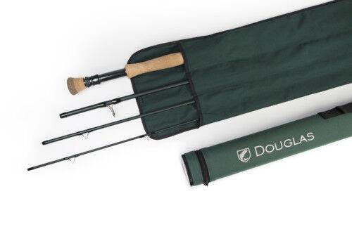 NEW DOUGLAS DXF 6964 9' 6   6 WT FLY ROD WITH TUBE, WARRANTY, FREE  80 SA LINE