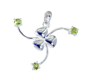 bonnie-Peridot-925-Sterling-Silver-Green-Pendant-genuine-Designer-US-gift