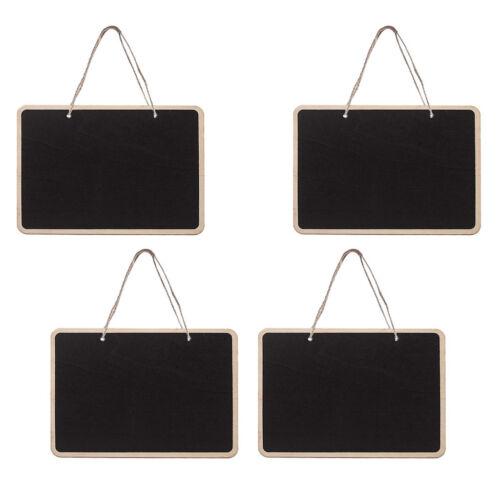 Wall Hanging Haut Ardoise Mini Tableau Noir Chevalet Craie AVIS MEMO BOARD Signes