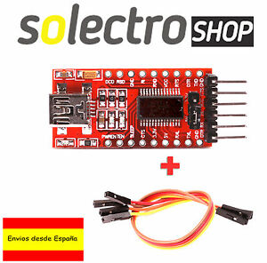 FT232RL-FTDI-USB-a-TTL-Conversor-Serial-3-3-5V-Arduino-Pro-Mini-cable-C0007