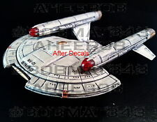 Star Trek Starships Collection EAGLEMOSS Intrepid Type REGISTRY DECAL ONLY