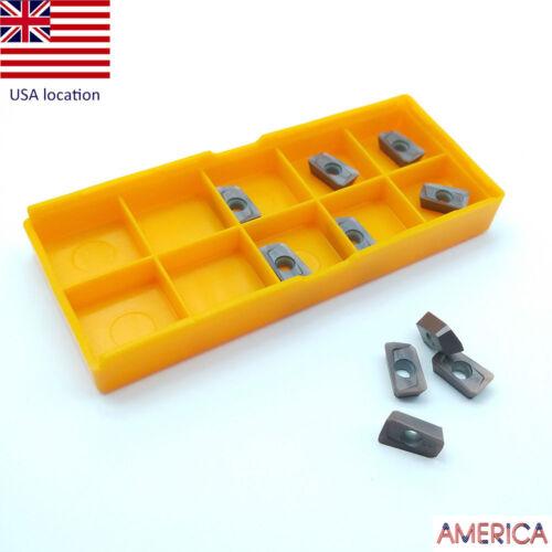 10pcs APMT1135PDER-M2 1125 Insert Carbide Insert Milling Cutter APKT1135 us