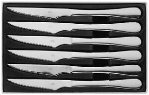 Juez-Windsor-conjunto-de-seis-acero-inoxidable-cuchillos-para-carne-en-caja-25-Ano-De-Garantia