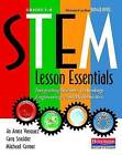 Stem Lesson Essentials, Grades 3-8: Integrating Science, Technology, Engineering, and Mathematics by Jo Anne Vasquez, Michael Comer, Cary Sneider (Paperback / softback, 2013)