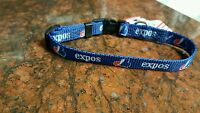 Vintage Montreal Expos Dog Collar Or Leash, Made In Usa