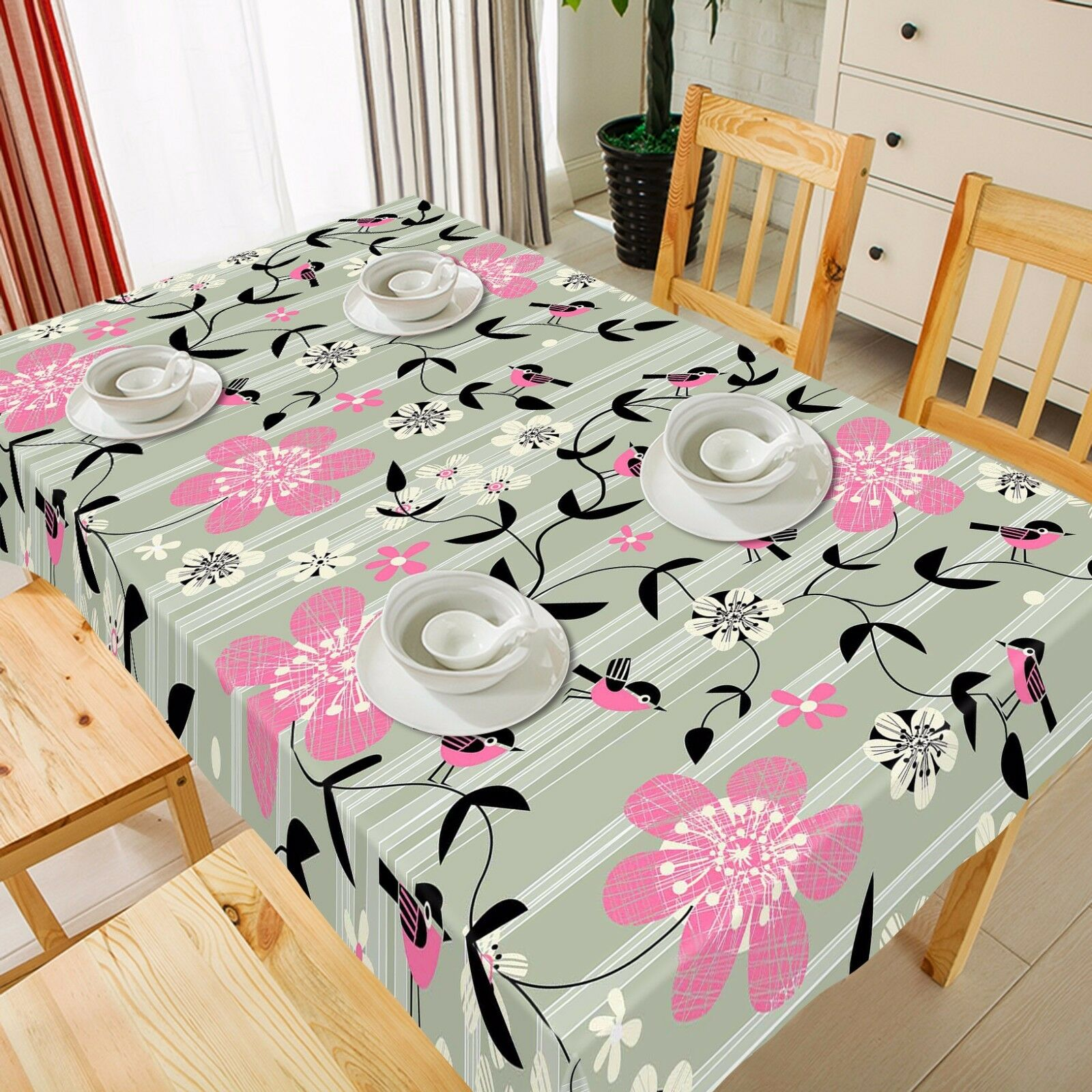 3D Flower 847 Tablecloth Table Cover Cloth Birthday Party Event AJ WALLPAPER UK