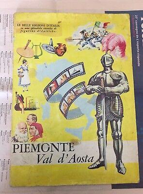 Honesty Album Piemonte Val D'aosta Ed.ducale 1967 116 Figurine Raro Inserto
