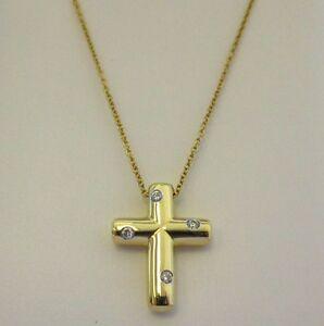 Jewelry amp watches gt fine jewelry gt fine necklaces amp pendants gt diamond - Tiffany Amp Co Diamond Cross Image 4 Hot Girls Wallpaper