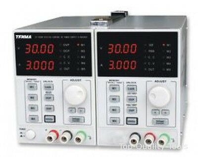POWER SUPPLY, 2CH, 30V, 3A, ADJUSTABLE MPN: 72-10500 TENMA