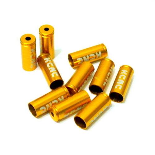 gobike88 KCNC Brake Housing Open End Caps B85 10 pieces 5mm Gold