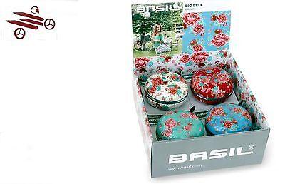 Bike Bell St Ding-dong 80mm Design Basil Flowers