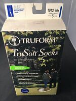Truform 8-15 1912wh Trusoft Crew Sock, Small, White (1 Pair)),