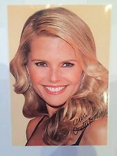 Christie Brinkley AUTOGRAPHED picture photo