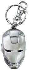 Key Chain Marvel Heroes Iron Man Head Pewter