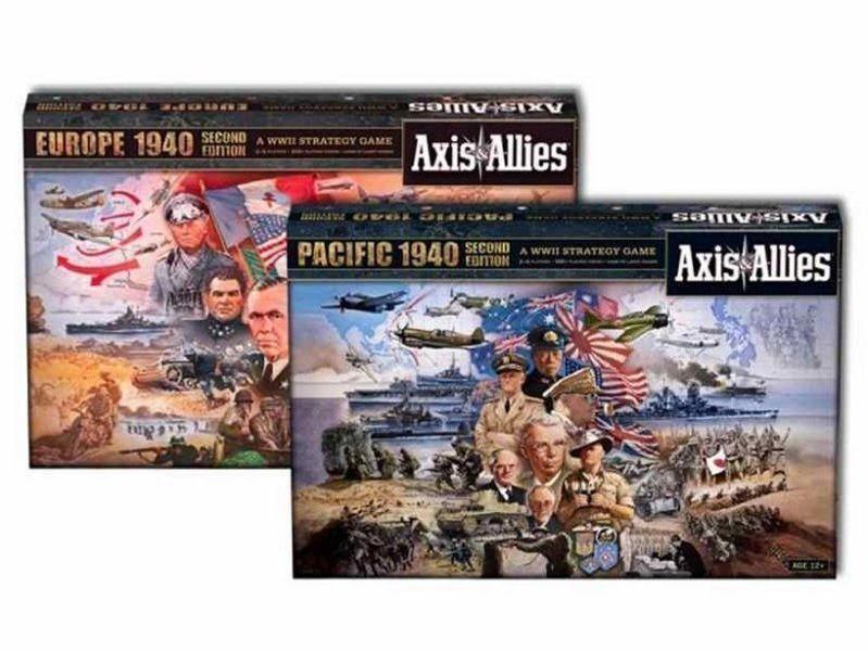 Axis & Allies Europe 1940 + Paquete de 1940 Juegos del Pacífico (nuevo)