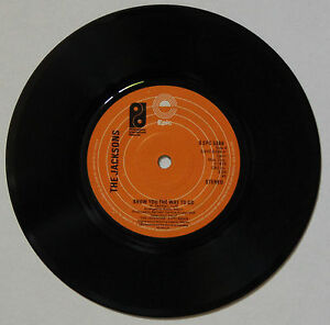 Vinyle-45T-The-Jacksons-034-Show-you-the-way-to-go-034