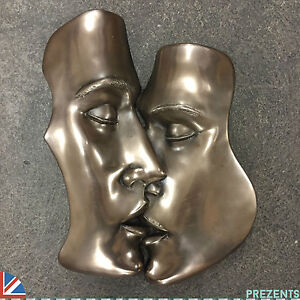 Image Is Loading THE KISS EROTIC BRONZE WALL ART SEXY PLAQUE