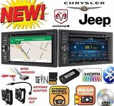 CHRYSLER JEEP DODGE DVD CD USB GPS Navigation SYSTEM Bluetooth CAR Radio Stereo