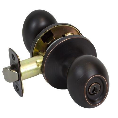 Burton Harbor Oil Rubbed Bronze Egg Door Knob Hardware Collection Entry Bed Bath