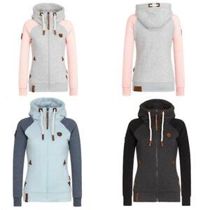 Women-Jacket-Coat-Slim-Warm-Overcoat-Trench-Long-Winter-Outwear-Parka-Hooded