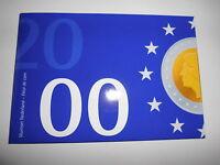 Niederlande KMS Kursmünzensatz 2000 Gulden