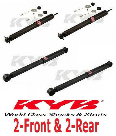 4-KYB Excel-G® Shocks Jeep Grand Cherokee 1999 to 2004 2-Front /& 2-Rear