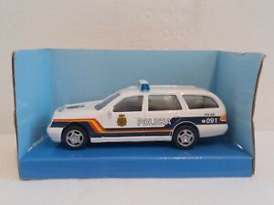 Cararama-Policia-Nacional-Mercedes-300T-VEH-CULO-DE-DIECAST-ESCALA-1-43