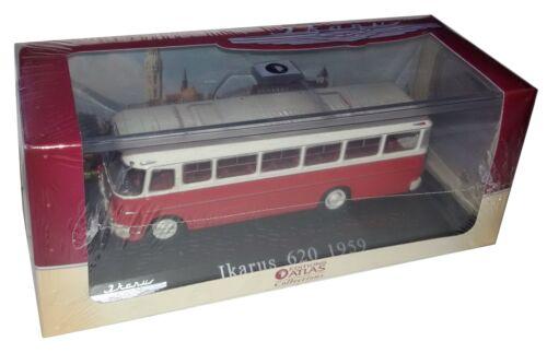 Ikarus Bus Collection Atlas 1//72 Ikarus 620 1959 Diecast
