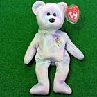 Issy Jakarta Ty Beanie Baby Teddy Bear MWMT Four Seasons Hotel Collection 2001