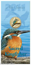 10 x 2011 Air Series - Sacred Kingfisher, One Dollar Pad Printed Coin Wholesale!